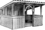 Беседка-павильон - Садовая :: Беседки изготовленные из благородных пород дерева, можно заказать по телефонам: 8 (495) 783-65-09, 8 (495) 518-64-87