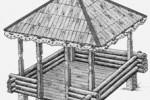 Беседка - Петушок :: Беседки изготовленные из благородных пород дерева, можно заказать по телефонам: 8 (495) 783-65-09, 8 (495) 518-64-87