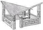 Беседка - Уголок-2 :: Беседки изготовленные из благородных пород дерева, можно заказать по телефонам: 8 (495) 783-65-09, 8 (495) 518-64-87