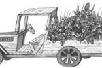 Цветочница - Грузовик :: Цветочницы из дерева, Вы можете заказать по телефонам: 8 (495) 783-65-09, 8 (495) 518-64-87