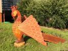Цветочница - Жар-Птица :: Цветочницы из дерева, Вы можете заказать по телефонам: 8 (495) 783-65-09, 8 (495) 518-64-87