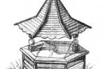 Колодец - Китайский :: Заказать изготовление колодцев из дерева Вы можете по телефонам: 8 (495) 783-65-09, 8 (495) 518-64-87