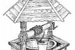 Колодец - Шестигранный :: Заказать изготовление колодцев из дерева Вы можете по телефонам: 8 (495) 783-65-09, 8 (495) 518-64-87