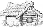 Будка для собаки - По-деревенски Б :: Изготовление будок для собак по телефонам: 8 (495) 783-65-09, 8 (495) 518-64-87