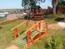 Мостик - Простой детский :: Мостики изготовленные из дерева, Вы можете заказать по телефонам: 8 (495) 783-65-09, 8 (495) 518-64-87