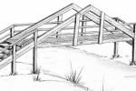 Мост - Пирамида :: Мостики изготовленные из дерева, Вы можете заказать по телефонам: 8 (495) 783-65-09, 8 (495) 518-64-87