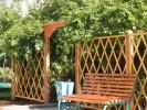Пергола - Парковая 1 Б - ячейка 20х20 (большая) :: Заказать перголы и теневые навесы деревянные, Вы можете по телефонам: 8 (495) 783-65-09, 8 (495) 518-64-87