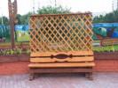 Пергола - Парковая 1 В - ячейка 25х25 (большая) :: Заказать перголы и теневые навесы деревянные, Вы можете по телефонам: 8 (495) 783-65-09, 8 (495) 518-64-87