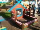 Песочница с кубиками :: Детские песочницы изготовленные из дерева, Вы можете купить/заказать по телефонам: 8 (495) 783-65-09, 8 (495) 518-64-87