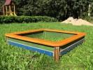 Песочница - Простая (большая) :: Детские песочницы изготовленные из дерева, Вы можете купить/заказать по телефонам: 8 (495) 783-65-09, 8 (495) 518-64-87