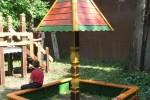 Песочница - Грибок (средняя) :: Детские песочницы изготовленные из дерева, Вы можете купить/заказать по телефонам: 8 (495) 783-65-09, 8 (495) 518-64-87