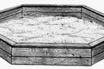 Песочница - Шестигранная :: Детские песочницы изготовленные из дерева, Вы можете купить/заказать по телефонам: 8 (495) 783-65-09, 8 (495) 518-64-87