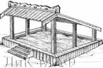 Песочница - Конёк :: Детские песочницы изготовленные из дерева, Вы можете купить/заказать по телефонам: 8 (495) 783-65-09, 8 (495) 518-64-87