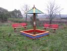 Песочница - Грибок (большая) :: Детские песочницы изготовленные из дерева, Вы можете купить/заказать по телефонам: 8 (495) 783-65-09, 8 (495) 518-64-87
