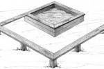 Песочница - Встреча :: Детские песочницы изготовленные из дерева, Вы можете купить/заказать по телефонам: 8 (495) 783-65-09, 8 (495) 518-64-87