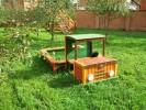 Песочница - Грузовик :: Детские песочницы изготовленные из дерева, Вы можете купить/заказать по телефонам: 8 (495) 783-65-09, 8 (495) 518-64-87