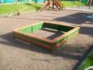Песочница - Простая (средняя) :: Детские песочницы изготовленные из дерева, Вы можете купить/заказать по телефонам: 8 (495) 783-65-09, 8 (495) 518-64-87