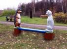 Скамья - Ёжик и кот :: Скамейки и лавки изготовленные из дерева, можно заказать по телефонам: 8 (495) 783-65-09, 8 (495) 518-64-87