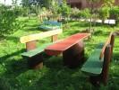 Гарнитур - Хуторской :: Скамейки и лавки изготовленные из дерева, можно заказать по телефонам: 8 (495) 783-65-09, 8 (495) 518-64-87