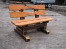 Скамья - Парковая (средняя) :: Скамейки и лавки изготовленные из дерева, можно заказать по телефонам: 8 (495) 783-65-09, 8 (495) 518-64-87