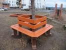 Скамья - Четырёхгранная :: Скамейки и лавки изготовленные из дерева, можно заказать по телефонам: 8 (495) 783-65-09, 8 (495) 518-64-87