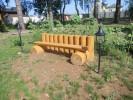 Скамья - Бревенчатая :: Скамейки и лавки изготовленные из дерева, можно заказать по телефонам: 8 (495) 783-65-09, 8 (495) 518-64-87