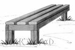 Скамья - Домашняя :: Скамейки и лавки изготовленные из дерева, можно заказать по телефонам: 8 (495) 783-65-09, 8 (495) 518-64-87