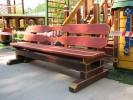 Скамья - Парковая (большая) :: Скамейки и лавки изготовленные из дерева, можно заказать по телефонам: 8 (495) 783-65-09, 8 (495) 518-64-87
