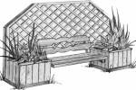 Скамья - Отдых :: Скамейки и лавки изготовленные из дерева, можно заказать по телефонам: 8 (495) 783-65-09, 8 (495) 518-64-87