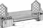 Скамья - Пергола :: Скамейки и лавки изготовленные из дерева, можно заказать по телефонам: 8 (495) 783-65-09, 8 (495) 518-64-87