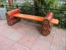 Скамейка из брёвен :: Скамейки и лавки изготовленные из дерева, можно заказать по телефонам: 8 (495) 783-65-09, 8 (495) 518-64-87