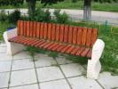 Скамья - Парковый диван прямой :: Скамейки и лавки изготовленные из дерева, можно заказать по телефонам: 8 (495) 783-65-09, 8 (495) 518-64-87