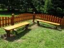 Скамья - Детская :: Скамейки и лавки изготовленные из дерева, можно заказать по телефонам: 8 (495) 783-65-09, 8 (495) 518-64-87