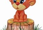 Скульптура - Царь зверей Лев (большая) :: Заказать изготовление скульптур из дерева, Вы можете по телефонам: 8 (495) 783-65-09, 8 (495) 518-64-87