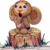 Скульптура - Чебурашка (средняя) :: Заказать изготовление скульптур деревянных, Вы можете по телефонам: 8 (495) 783-65-09, 8 (495) 518-64-87