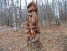 Скульптура - Кот в сапогах (большая) :: Заказать изготовление скульптур деревянных, Вы можете по телефонам: 8 (495) 783-65-09, 8 (495) 518-64-87