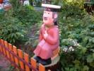 Скульптура - Почтальон Печкин (средняя) :: Заказать изготовление деревянных скульптур, Вы можете по телефонам: 8 (495) 783-65-09, 8 (495) 518-64-87