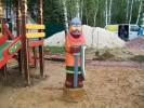 Скульптура - Богатырь (средняя) :: Заказать изготовление скульптур из дерева, Вы можете по телефонам: 8 (495) 783-65-09, 8 (495) 518-64-87