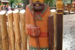 Скульптура Богатырь малая :: Заказать изготовление скульптур из дерева, Вы можете по телефонам: 8 (495) 783-65-09, 8 (495) 518-64-87