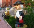 Скульптура - Шапокляк (большая) :: Заказать изготовление скульптур из дерева, Вы можете по телефонам: 8 (495) 783-65-09, 8 (495) 518-64-87