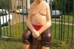 Скульптура - Три разбойника (средняя) :: Заказать изготовление скульптур из дерева, Вы можете по телефонам: 8 (495) 783-65-09, 8 (495) 518-64-87