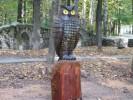 Скульптура - Сова (большая) :: Заказать изготовление скульптур из дерева, Вы можете по телефонам: 8 (495) 783-65-09, 8 (495) 518-64-87