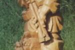 Скульптура - Охотник (средняя) :: Заказать изготовление скульптур из дерева, Вы можете по телефонам: 8 (495) 783-65-09, 8 (495) 518-64-87