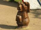 Скульптуры - Мишки 1 шт. (средняя) :: Заказать изготовление скульптур из дерева, Вы можете по телефонам: 8 (495) 783-65-09, 8 (495) 518-64-87