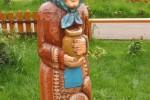 Скульптура - Баба (средняя) :: Заказать изготовление скульптур из дерева, Вы можете по телефонам: 8 (495) 783-65-09, 8 (495) 518-64-87
