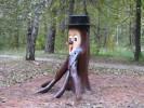 Скульптура - Леший (большая) :: Заказать изготовление скульптур из дерева, Вы можете по телефонам: 8 (495) 783-65-09, 8 (495) 518-64-87