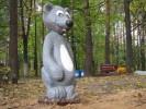 Скульптура - Мышка (маленькая) :: Заказать изготовление скульптур из дерева, Вы можете по телефонам: 8 (495) 783-65-09, 8 (495) 518-64-87