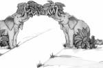 Входные ворота :: Маугли изготовленные из дерева, заказать данную продукцию Вы можете по телефонам: 8 (495) 783-65-09, 8 (495) 518-64-87
