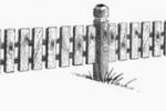 Забор - Семерка :: Заказ изготовления заборов и оград из дерева в нашей компании по телефонам: 8 (495) 783-65-09, 8 (495) 518-64-87