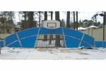 Хоккейная коробка 03 :: Заказать хоккейные коробки для спортивных площадок можно по телефонам: 8 (495) 783-65-09, 8 (495) 518-64-87